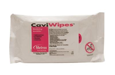 Surface Disinfectant CaviWipes Wipe 45 Count Disposable 20 packs per case 20/CS