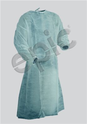 ISOlation Gown , Blue, SSP, EW - XLG 50/case