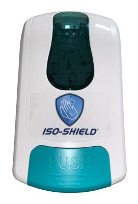 ISO-SHIELD Manual Dispenser, 1 each