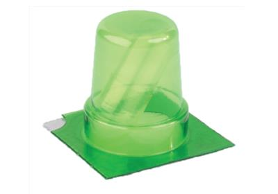 25 Dose Medi-Cup Blister - Jumbo - GREEN (1,000 Doses) 1/case