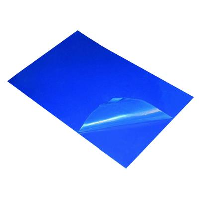 "Tacky Mat Blue Base , Clear Film 18"" x 36"" 30 layers mats, 8 mats/case"
