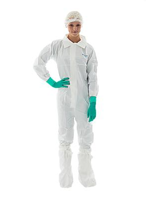 BioClean Sterile Coverall with Collar, Large, 20 per case