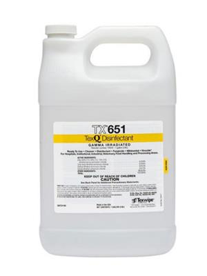 TexQ Disinfectant Concentrate 1 gallon 4 bottles/case